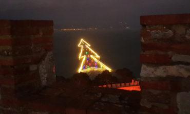 Capitone e Torciglione da gustare ammirando l'Albero di Natale sull'acqua