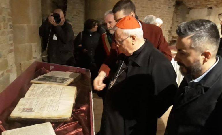 """Inaugurata dal cardinale Bassetti la mostra """"Il Natale nella rappresentazione artistica pievese"""""""