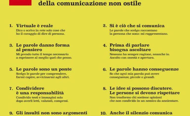 Castiglione del Lago aderisce al 'Manifesto della comunicazione non  ostile', è il primo comune in Umbria