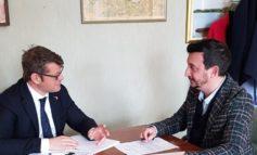 Ex Sai, caserma dei carabinieri e palazzetto: incontro tra senatore Briziarelli e sindaco Pasquali