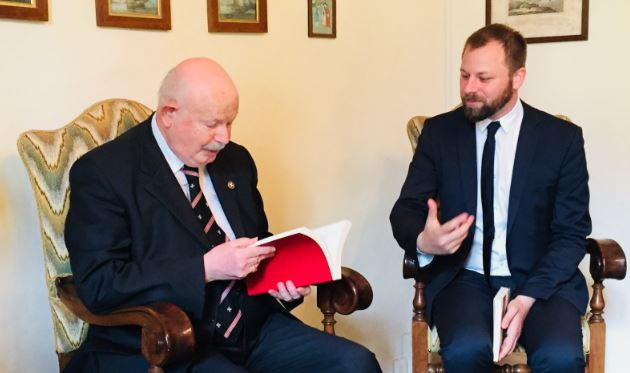 Morto il Principe dell'Ordine di Malta: le condoglianze del sindaco di Magione