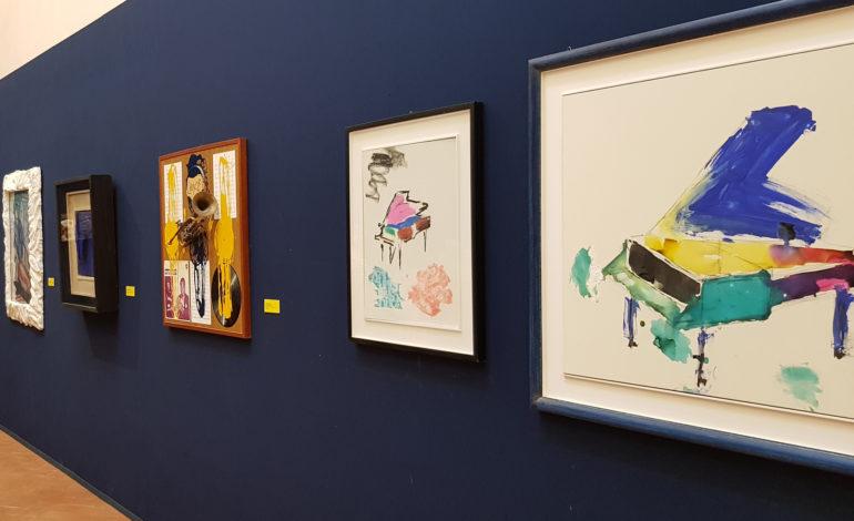 Fino a domenica è visitabile la mostra Creativity a Palazzo della Corgna