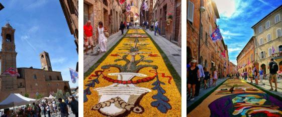 fiori in fiera Infiorata di San Luigi infiorate Terziere Casalino weekend citta-della-pieve eventi-e-cultura
