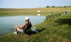 Pesca sportiva, sabato open day al nuovo laghetto di Paciano
