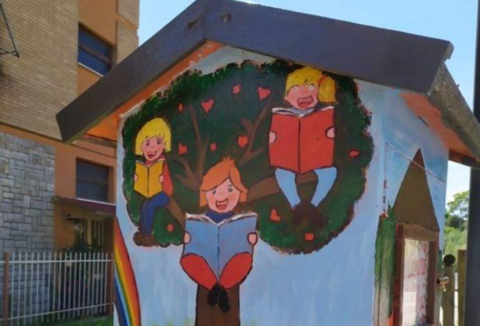 agello bookcrossing free library lettura libreria libri passalibro proloco cronaca magione
