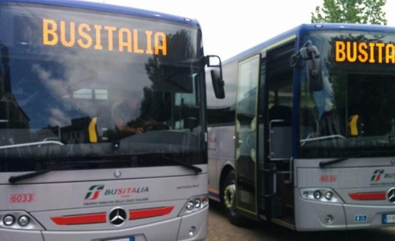 Trasporti: dall'8 giugno orario estivo Busitalia, 20% di gomma in più
