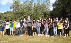 Fine anno scolastico, il sindaco Risini partecipa alla festa di Moiano