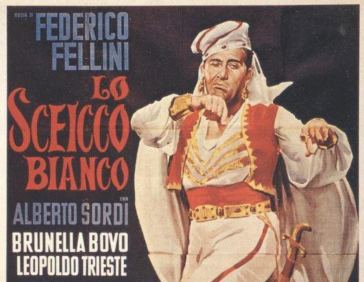alberto sordi cinema federico fellini lagodarte Roccacinema sceicco bianco settima arte castiglionedellago eventi-e-cultura