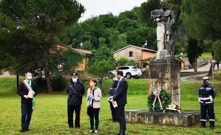 commemorazione guerra montebuono nazismo pace strage di montebuono cronaca magione