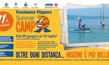 """Centri estivi, giochi e divertimento: partite le iscrizioni al """"Trasimeno Flippers Summer Camp"""""""