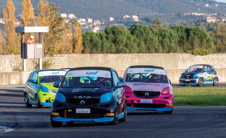 ACI Sport autodromo borzacchini Challenge Ford MPM motori Smart E-cup Super Cup 2020 magione sport
