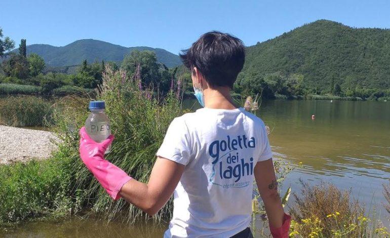 ambiente goletta dei laghi inquinamento le pedalate legambiente monitoraggio cronaca