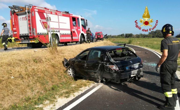118 ferito incidente incidente stradale ospedale pista ciclabile vigili del fuoco castiglionedellago cronaca