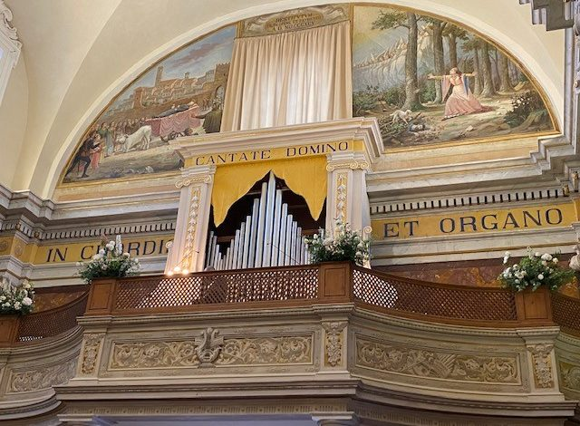 Città della Pieve: in tanti all'inaugurazione del restauro dello storico organo della concattedrale