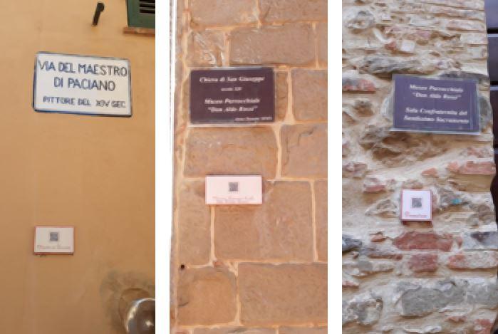 Paciano e turismo: visite al borgo sempre più interattive col QR code