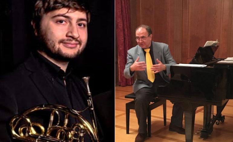 Al via il Festival di Musica Classica con il concerto di Gabriele Ricci e Stefano Ragni