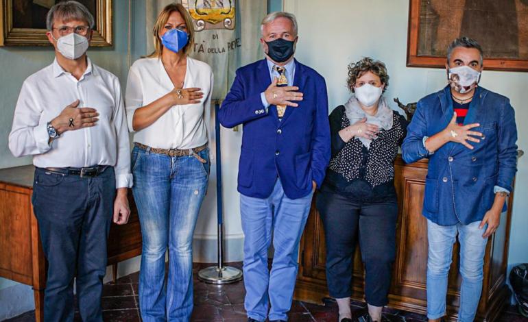 """Bambini e salute, Città della Pieve a fianco di Fiagop per la campagna """"Accendi d'oro, accendi la speranza"""""""