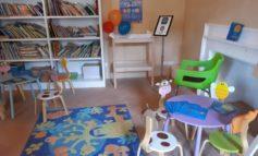"""Inaugurato a Palazzo Baldeschi il """"Baby pit stop"""" dove allattare e prendersi cura dei più piccoli"""