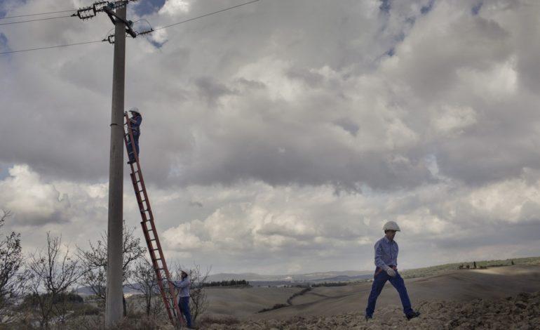 black out e-distribuzione elettricità enel lavori martinella cronaca passignano