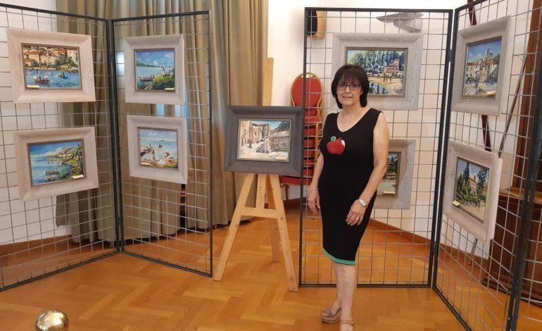 arte mostra Pamela Squarta pittura eventi-e-cultura passignano
