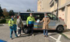 Prevenzione covid: Misericordia e Comune consegnano mascherine e altro materiale per le scuole
