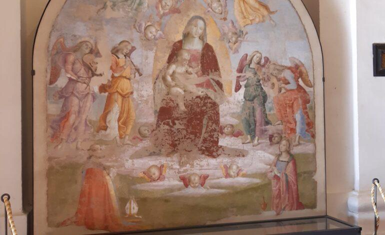 arte Madonna con bambino Raffaello Raffaello Sanzio Rinascimento eventi-e-cultura panicale