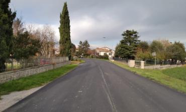 Viabilità, a Castiglione del Lago messa a nuovo la strada provinciale 306 in località Macchie