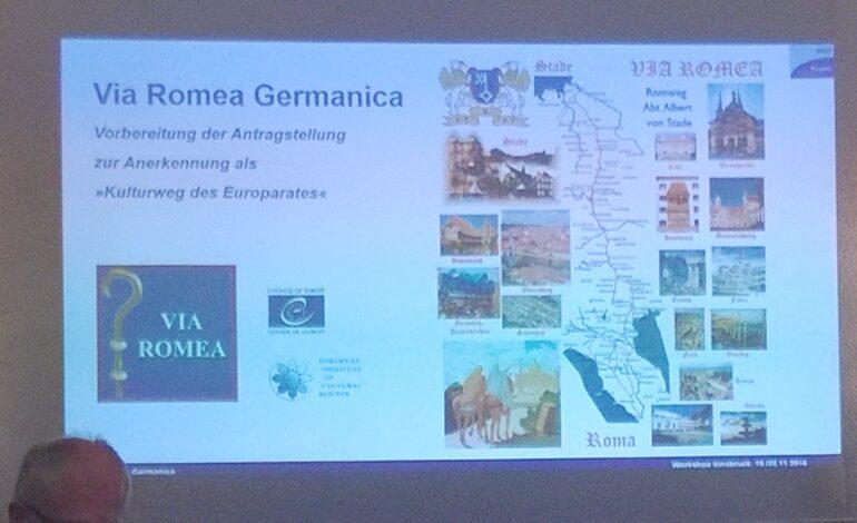 pellegrinaggio turismo religioso Via Romea Germanica economia
