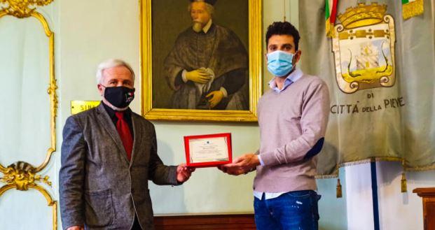 arbitro donazione Manuel Volpi citta-della-pieve sport