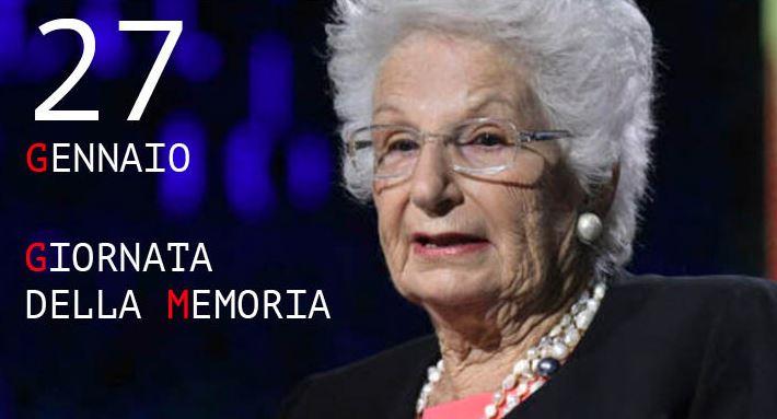 Giorno della memoria Liliana Segre olocausto pd shoah citta-della-pieve cronaca