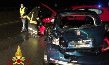 Sei auto coinvolte in un incidente sul Raccordo