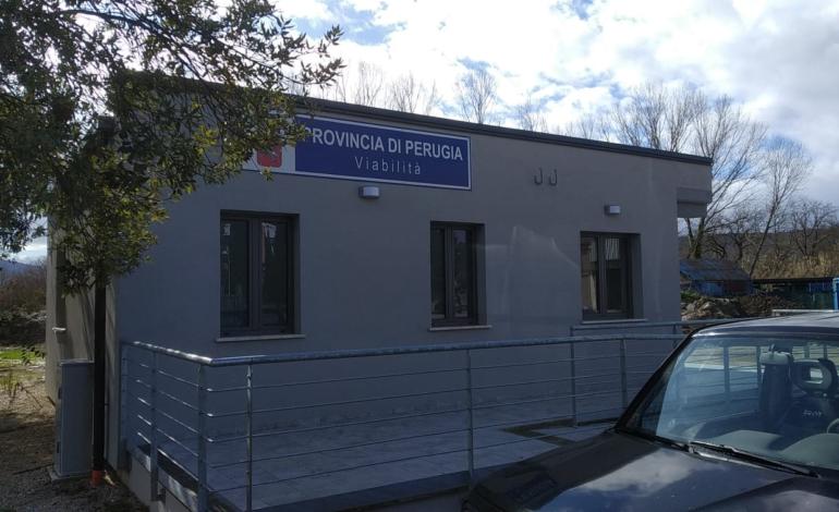Viabilità, a Magione la nuova sede operativa del Comprensorio stradale del Trasimeno