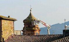 Chiesa Madonna delle Grazie, ripulito il campanile dalla vegetazione