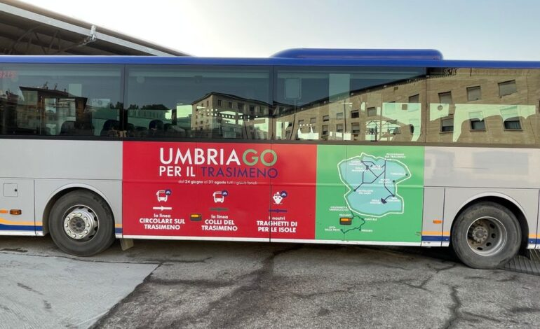 busitalia trasporti trenitalia Umbria.GO economia