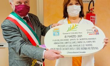 8 marzo, l'omaggio di Città della Pieve alle donne della sanità