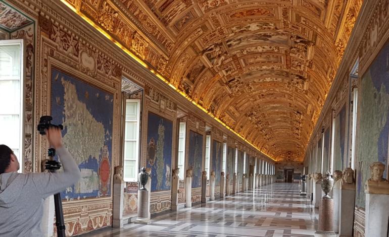 Digitalizzazione 3D, Archimede Arte protagonista al Rotary Club Perugia Trasimeno con i rilievi dei Musei Vaticani