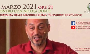 Lo storico della filosofia Nicola Donti ospite in diretta su Magione cultura