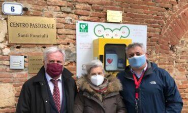 A Città della Pieve un defibrillatore in memoria del compianto Vinicio Macchioni
