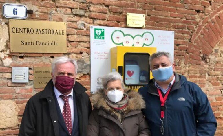 Città della Pieve defibrillatore memoria citta-della-pieve cronaca
