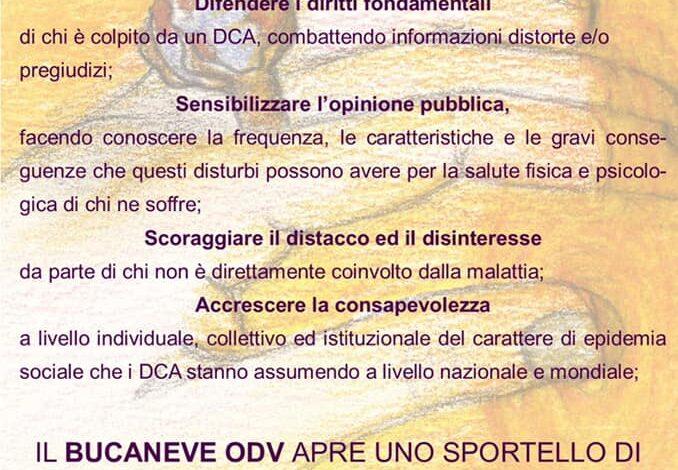"""Disturbi comportamento alimentare – """"Il Bucaneve"""" esporta le sue competenze in Liguria"""
