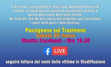 Giornata della memoria e dell'impegno, Passignano celebra sabato in diretta Facebook