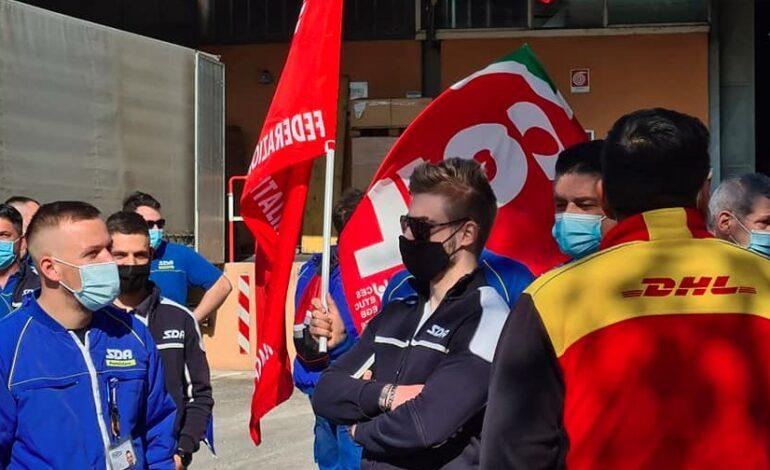 cgil contratto corrieri lavoratori logistica pandemia sciopero economia