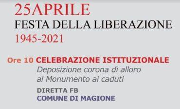25 aprile a Magione. Celebrazioni, libri e omaggio alla Costituzione