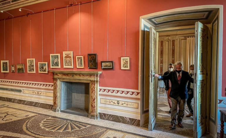 Di nuovo visitabile a Palazzo della Corgna la mostra di Antonio Marroni