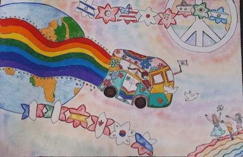 Poster della Pace: riconoscimento per la giovane Caterina Cascella