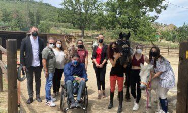Apre in zona La Goga La valle incantata centro ippico con corsi per bambini disabili