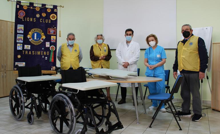 Nuove donazioni dal Lions Club Trasimeno al CORI di Passignano