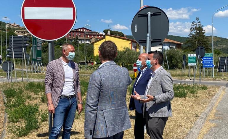 Viabilità: unità di intenti sulla rotatoria allo svincolo di Passignano Est