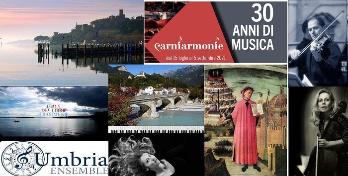 Musica, UmbriaEnsemble apre il Festival Isola del Libro Trasimeno