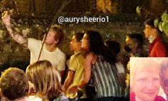 Ed Sheeran in vacanza a Paciano scatta selfie con i fan